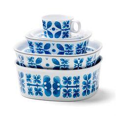 Blues bowl melamine - medium - Opto Design