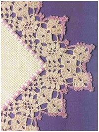 tons of free crochet patterns for crochet edges