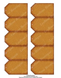 Blank Gift Tags. Rustic Look Stamp Your Own and Embellish How You Like. Hang Tags for Gifts, Merchandise. Digital Printable Download No.276 by AllDigitalPrintables on Etsy https://www.etsy.com/listing/85956272/blank-gift-tags-rustic-look-stamp-your