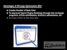 Off-page Optimization  We are a team of SEO professionals that is named by Designfo. We are able to provide this off-page optimization service and our seo experts help to improve your website ranking by using off-page optimization service.