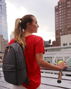 Getting ready to head out to the US Open with the Magnet Metro Backpack