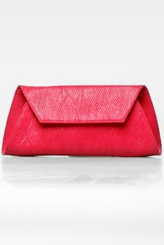 Trapezia 2 clutch bag #trapesium #rhombuspattern #fauxleather #kulit #simple #fashionable #colors #pink