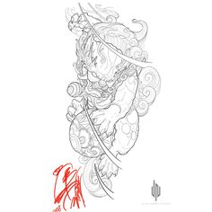 ideas tattoo arm lion foo dog for 2019 Japanese Tattoo Art, Japanese Dragon Tattoos, Japanese Tattoo Designs, Asian Tattoos, Trendy Tattoos, Chinese Sleeve Tattoos, Arm Tattoo, Body Art Tattoos, Lion Tattoo