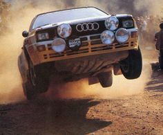 Walter Röhrl - Christian Geistdörfer-18º Rallye de Portugal 1984. Audi Quattro A2. Clasificado 6º.