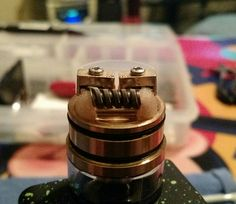Rockin caterpillar track Clapton with 28 ga parallel on my new ijoy combo courtesy of Dave's ivapors in West Frankfort il cheapest prices around, no joke! Check em out, it's well worth the drive. Chappycoils