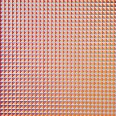"Annell Livingston - Fragment Series #146 - 30x30"" gouache on paper #neoopart #opart #contemporaryart #taosartist #santafeart"