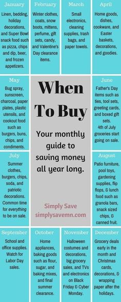 Monthly Guide To Prepper Savings http://marclanders.com/monthly-guide-prepper-savings/