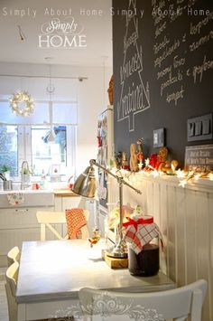 Casinha colorida: Home tour: um Natal elegante e acolhedor