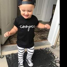 XS S M L XL Width, in Length, in Sleeve length, in A special selection of soft-style yarns keeps this shirt feeling great with every touch. Cute Outfits For Kids, Cute Kids, Cute Babies, Kids Shirts, Cool Shirts, Cute Baby Gifts, Girls Wear, My Baby Girl, Customized Gifts