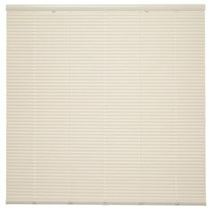 Style Selections 1-In Cordless Ivory Vinyl Room Darkening Mini-Blinds