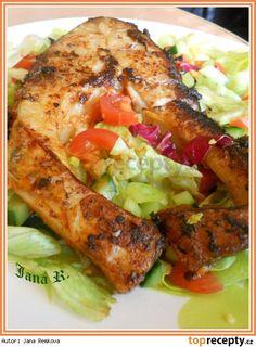 Čertova podkova Food 52, Tandoori Chicken, Fish Recipes, Cooking Recipes, Ethnic Recipes, Fish Food, Chef Recipes, Fish Feed