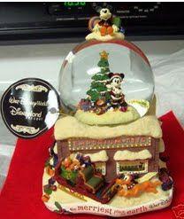 Disney Emporium Christmas Snowglobe