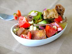 tomato bread salad, from one of my favorite recipe resources...weelicious.  can't wait to try it!  all of her stuff is yummo