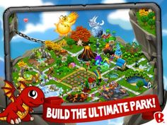 Dragon vale is so much fun, raise dragons, grow food, compete in events, and so much more.