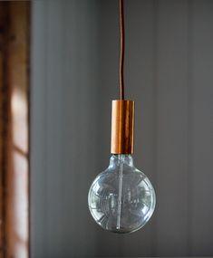 Copper Bulb Pendant | Olive & the Fox