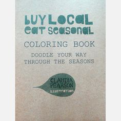 Buy Local Coloring Book now featured on Fab.
