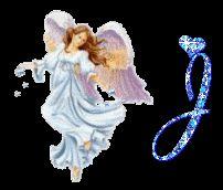 Alfabeto animado de ángel.   Oh my Alfabetos!