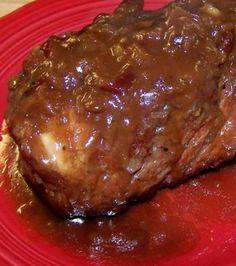 Crock Pot Cranberry Pork Loin Roast