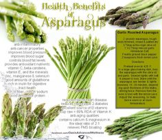 Health benefits of asparagus.