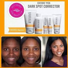 Best product for even skin tone (age spots, pregnancy mask)! SHINEGlobal.myRandF.com