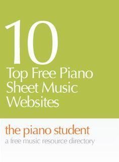 Free Piano Sheets, Easy Piano Sheet Music, Free Sheet Music, Piano Music, Music Sheets, Piano Lessons, Music Lessons, Art Lessons, Music Websites