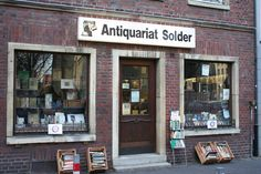Münster, Antiquariat Solder Krimi Serie Wilsberg