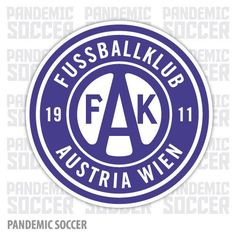 FK Austria Wien Vienna Vinyl Sticker Decal
