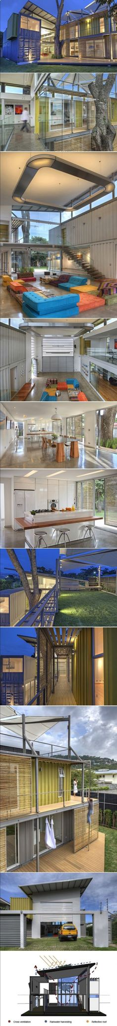 Shipping Container Home Infused With Sustainable Features