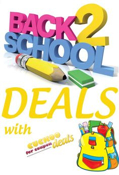 BEST Site for Back to School Deals!!! #giveaways