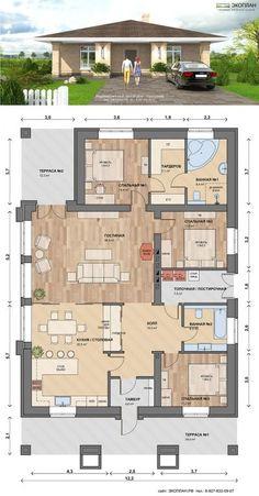 Технико-экономические показатели Площадь дома:>147,0 кв.м. Площадь дома:>1 эт. с мансардой Стоимость Архитектурно-строительная часть:>30 тыс....