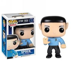spock funko pop vinyl star trek pop figures