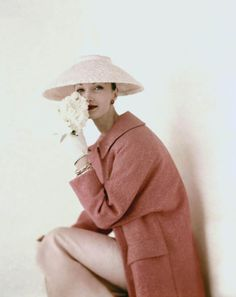 Vogue, 1956, photo by Karen Radkai