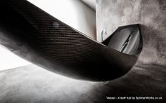 "SplinterWorks Carbon fibre ""Vessel"" bathtub"