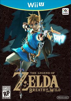 #TheLegendOfZelda #LegendOfZelda #LOZ #TheLegendOfZeldaBreathOfTheWild #LegendOfZeldaBreathOfTheWild #LOZBOTW #WiiU #Nintendo #NintendoWiiU #BoxCover #BoxArt