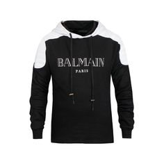 Balmain hoodies, sweatshirts for men, cotton