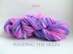 BLEND - Thick and Thin, Handspun Yarn