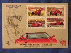 Francobolli * Enzo Ferrari * 1898/1988