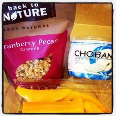 My Yummy Breakfast!!  #Chobani