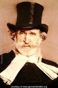 Portrait of Guiseppe Verdi - Giovanni Boldini - www.giovanniboldini.org