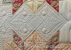 """Still 'Swooning'"" (from Borderline Quilter)"