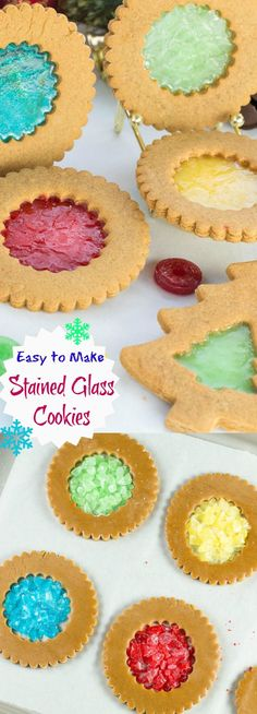 How to Make beautiful Stained Glass Cookies.