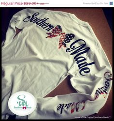 Get It Now Sale 15%OFF Southern Made NEW by SouthernMadeShirts