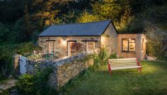 Libertine in Cornwall, UK may be the most charming cottage I've ever seen!