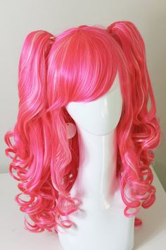 Shop for cosplay on Etsy, the place to express your creativity through the buying and selling of handmade and vintage goods. Pinkie Pie Costume, Pinkie Pie Cosplay, Cosplay Hair, Cosplay Wigs, Halloween Cosplay, Halloween Costumes For Kids, Lady Glitter Sparkles, Weave Hairstyles, Cool Hairstyles