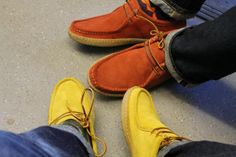 VERAS & THE CASUAL CONNOISSEUR CREATE THE EL CAPITAN SHOE IN 3 COLOURS