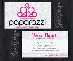 Paparazzi Jewelry Business Card Template And Earring Set - Jewelry business card templates