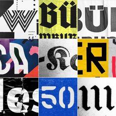 Patrick Thomas' typographic Instagram is pure genius | Typeroom.eu