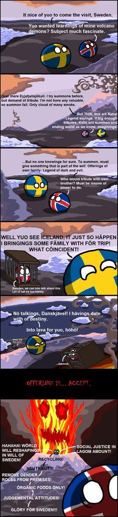 Glöri för Sweden!