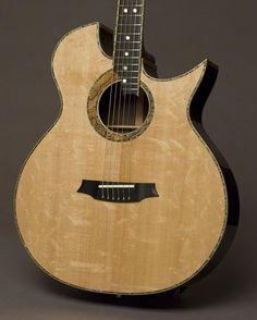 Front of the Doolin guitar...