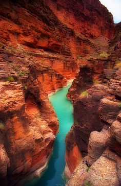Grand Canyon, Havasupai Reservation by etravus